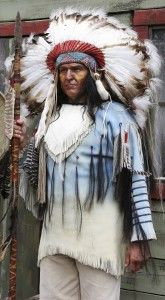 An indian chief